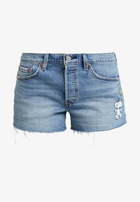 Levi's® - 501® SHORT - Jeans Shorts - blue denim - 3
