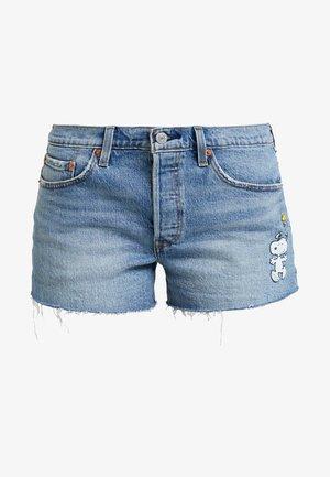 501® SHORT - Shorts vaqueros - blue denim