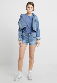 Levi's® - 501® SHORT - Jeans Shorts - blue denim - 1
