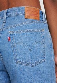 Levi's® - 501 SHORT LONG - Shorts vaqueros - montgomery stonewash short - 5