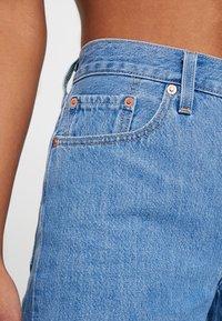 Levi's® - 501 SHORT LONG - Shorts vaqueros - montgomery stonewash short - 3