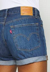 Levi's® - 501® SHORT LONG - Short en jean - sansome drifter - 5