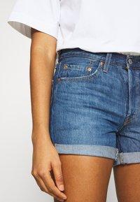 Levi's® - 501® SHORT LONG - Short en jean - sansome drifter - 3