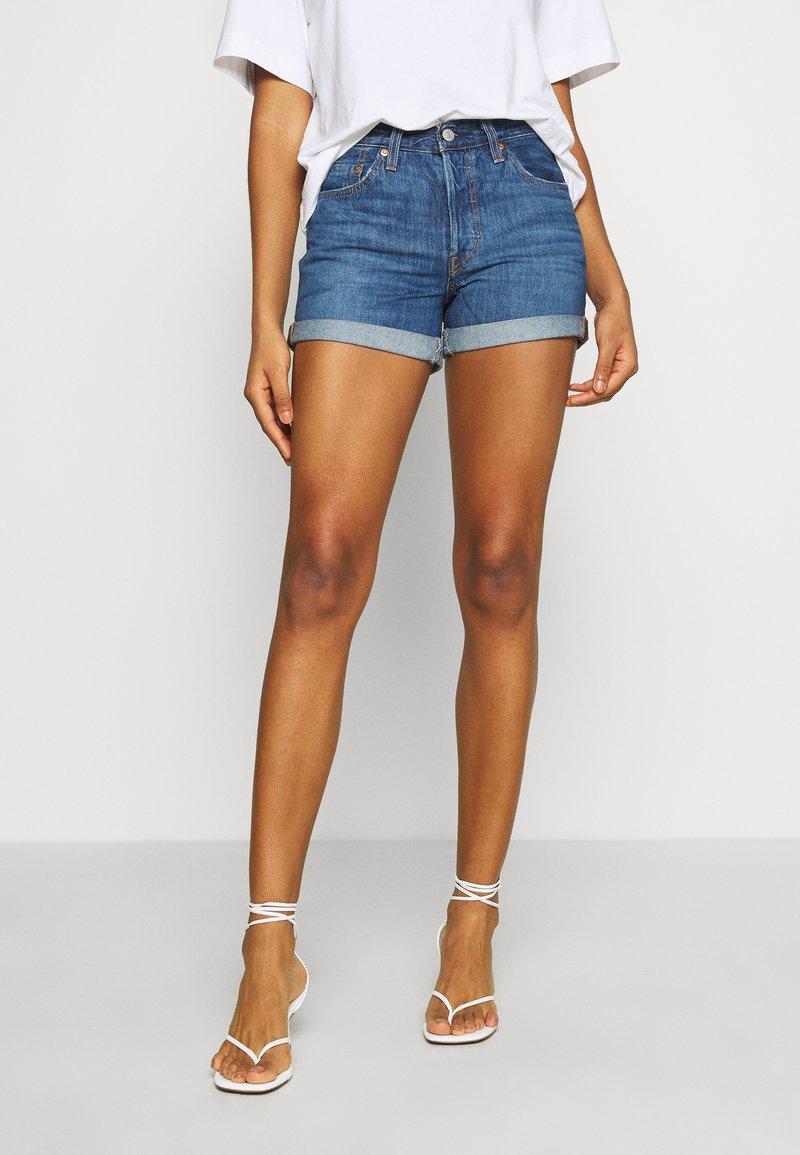 Levi's® - 501® SHORT LONG - Short en jean - sansome drifter