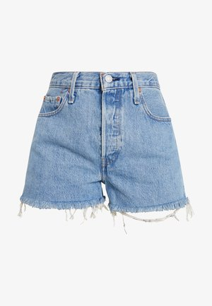 501® HIGH RISE SHORT - Short en jean - flat broke