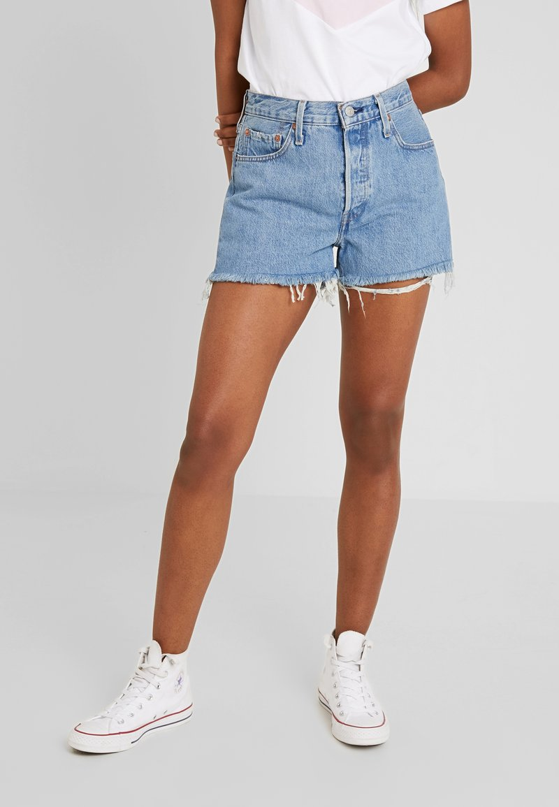 Levi's® - 501® HIGH RISE SHORT - Jeans Shorts - flat broke