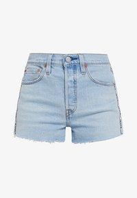 Levi's® - 501® HIGH RISE SHORT - Short en jean - dibs tape - 4