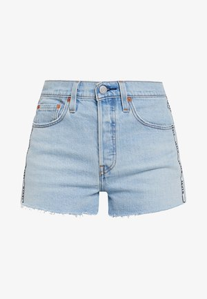 501® HIGH RISE SHORT - Shorts vaqueros - dibs tape