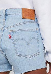 Levi's® - 501® HIGH RISE SHORT - Short en jean - dibs tape - 3
