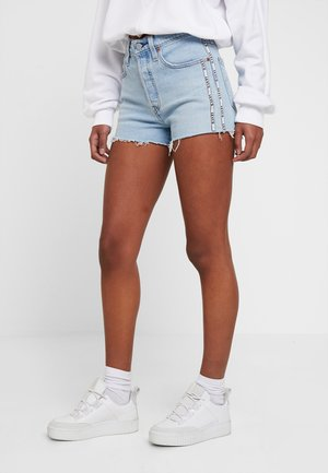 501® HIGH RISE SHORT - Farkkushortsit - dibs tape