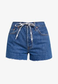 Levi's® - 501 HR LOGODRAW - Shorts vaqueros - draw back - 4