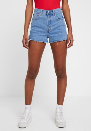 RIBCAGE SHORT - Denim shorts - tango stonewash