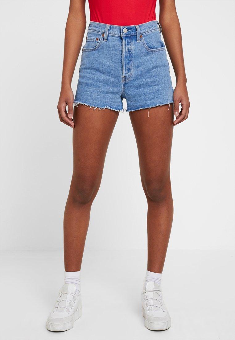 Levi's® - RIBCAGE SHORT - Jeans Shorts - tango stonewash