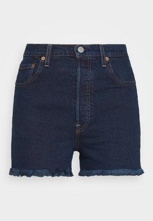 RIBCAGE SHORT - Short en jean - charleston blue black
