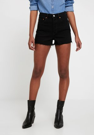 RIBCAGE SHORT - Short en jean - late shift