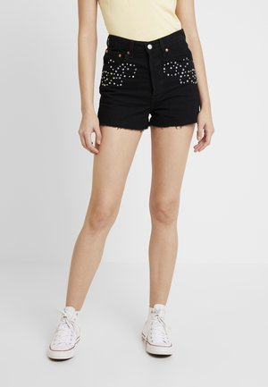 RIBCAGE SHORT - Denim shorts - border town