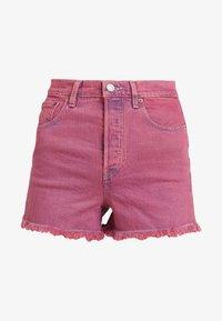 Levi's® - RIBCAGE  - Jeans Short / cowboy shorts - pink - 4
