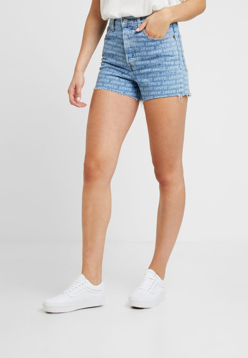 Levi's® - RIBCAGE  - Jeans Shorts - levis all over