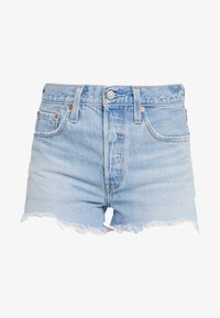 Levi's® - 501® ORIGINAL SHORT - Shorts di jeans - light-blue denim - 4