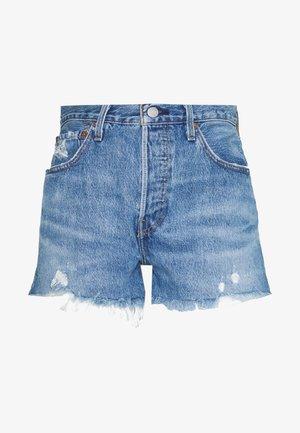 501® ORIGINAL - Shorts di jeans - athens mid short