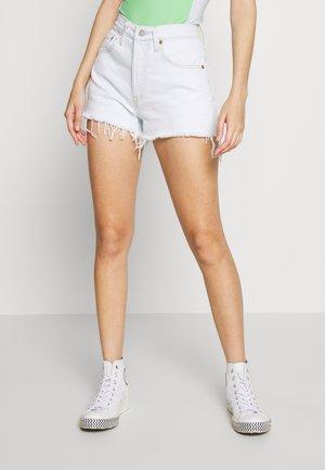 501® ORIGINAL - Szorty jeansowe - trace indigo