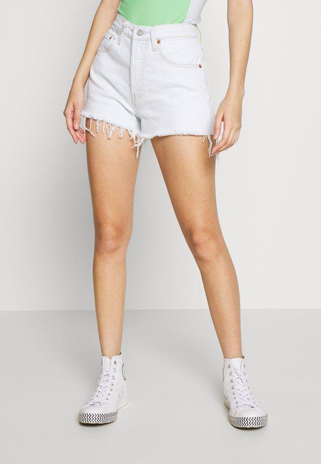 501® ORIGINAL - Shorts di jeans - trace indigo