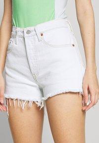 Levi's® - 501® ORIGINAL - Denim shorts - trace indigo - 3