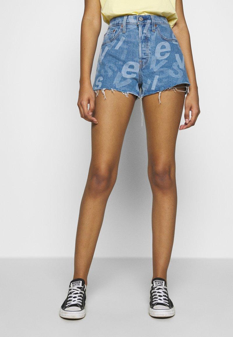 Levi's® - 501® ORIGINAL - Jeansshorts - charleston ao high low logo