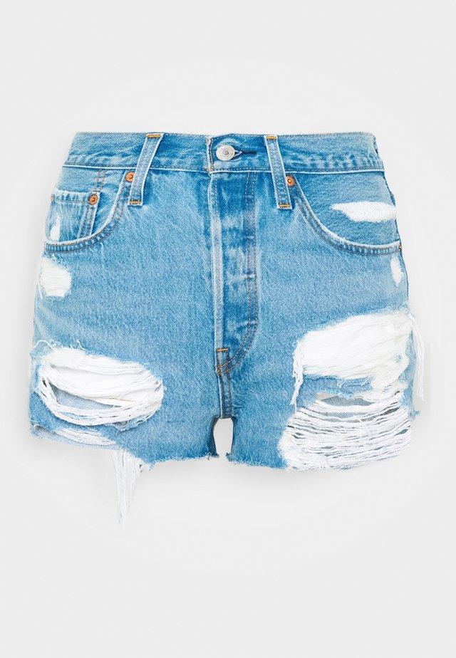 501® ORIGINAL - Szorty jeansowe - luxor anubis