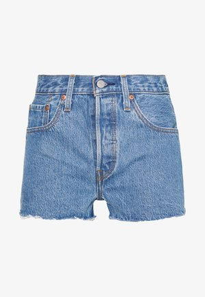 501® ORIGINAL - Denim shorts - blue denim
