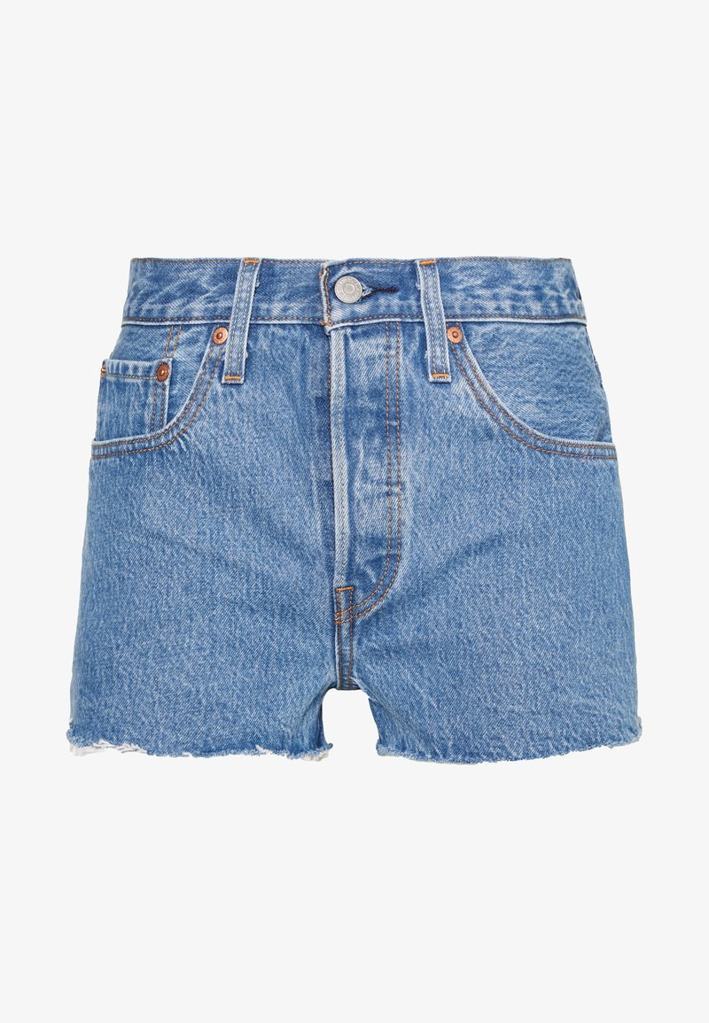 Levi's® - 501® ORIGINAL - Denim shorts - blue denim