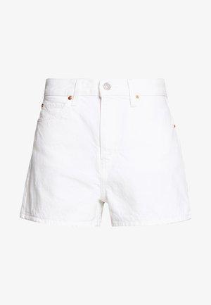 WIDE LEG SHORT  - Denim shorts - white
