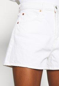 Levi's® - WIDE LEG SHORT  - Jeansshort - white - 3