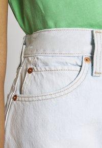 Levi's® - WIDE LEG SHORT  - Farkkushortsit - primer blue - 5