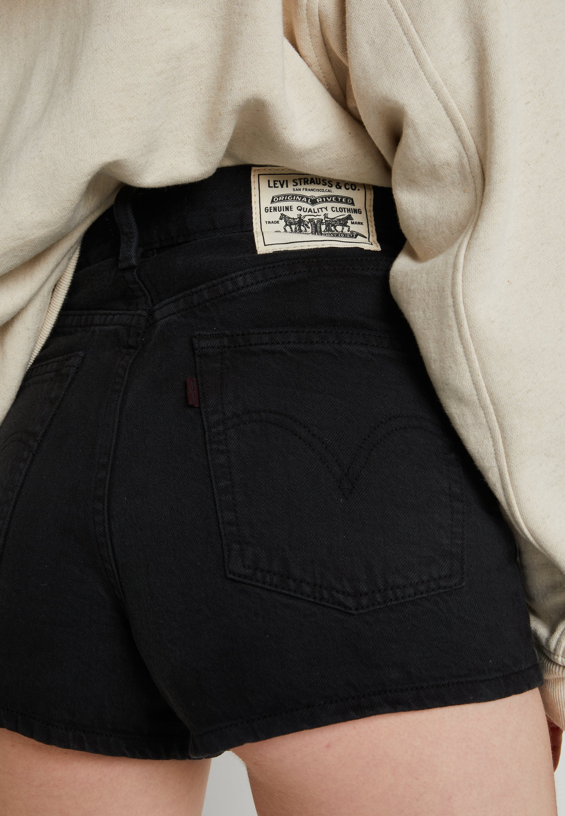 Levi\'s® Wellthread Ribcage Short - Shorts Di Jeans Spring Tide Hemp 3Nbzn