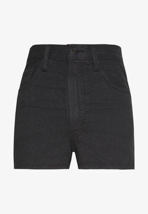 WELLTHREAD RIBCAGE SHORT - Szorty jeansowe - spring tide hemp