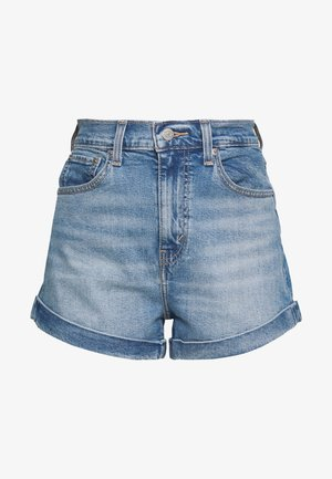 MOM A LINE  - Shorts vaqueros - bandit blue