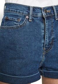 Levi's® - MOM A LINE  - Short en jean - babe brigade - 5