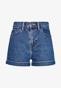 Levi's® - MOM A LINE  - Short en jean - babe brigade - 4