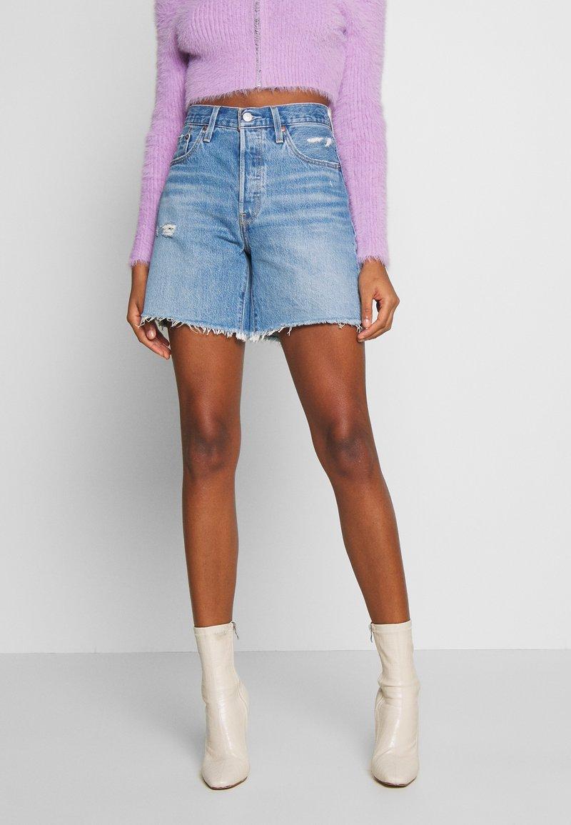 Levi's® - 501® MID THIGH - Shorts di jeans - denim