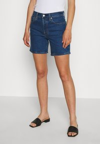 Levi's® - 501® MID THIGH - Jeans Short / cowboy shorts - charleston shadow - 0