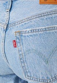 Levi's® - 501® MID THIGH - Jeansshorts - light blue denim - 2