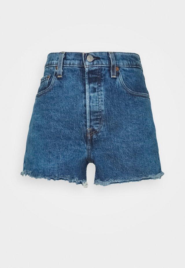RIBCAGE - Jeans Short / cowboy shorts - charleston erosion