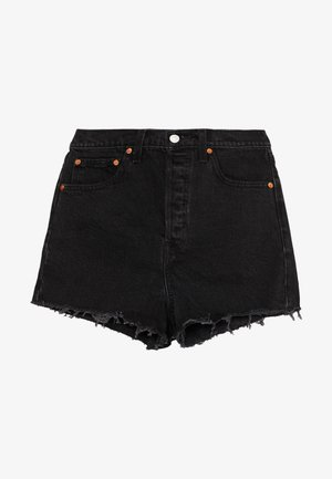RIBCAGE - Denim shorts - black bayou