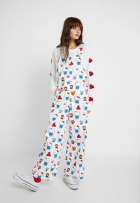 Levi's® - LEVI'S® X HELLO-KITTY BAGGY OVERALL - Tuinbroek - white - 0