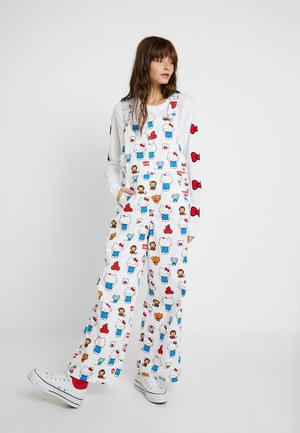 LEVI'S® X HELLO-KITTY BAGGY OVERALL - Overall /Buksedragter - white