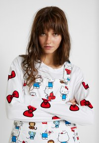 Levi's® - LEVI'S® X HELLO-KITTY BAGGY OVERALL - Tuinbroek - white - 3