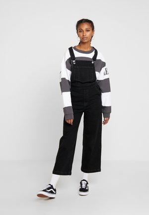 CAGE CROP OVERALL - Tuinbroek - black book