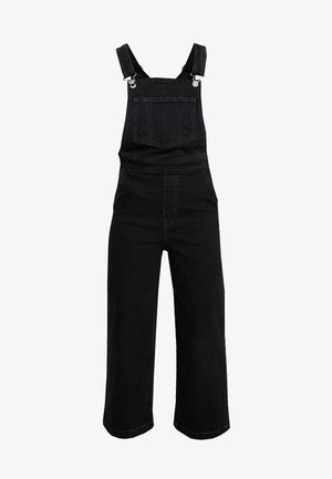 CAGE CROP OVERALL - Salopette - black book