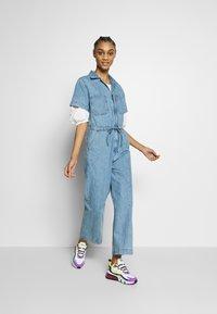 Levi's® - WIDE LEG - Overall / Jumpsuit - indigo street - 1